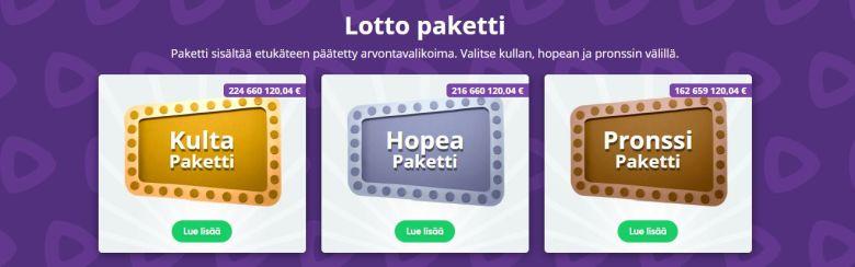 Lottopaketti
