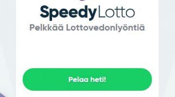 Oletko jo tutustunut Speedy -pelisivuston lottopaketteihin?