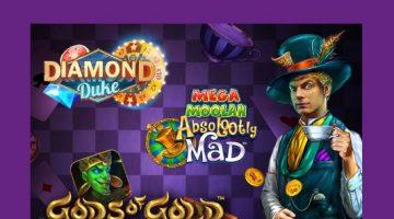 LuckyCasinolle saapuu tässä kuussa monta uutta kasinopeliä!